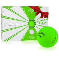 Callaway Golf ID-Align Supersoft Matte Green Golf Balls