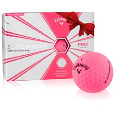 Callaway Golf Supersoft Matte Pink Golf Balls