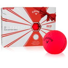 Callaway Golf ID-Align Supersoft Matte Red Golf Balls