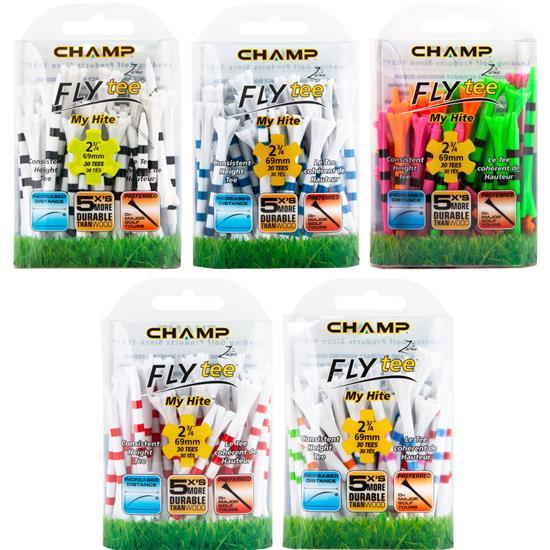 Champ Golf Zarma FLYtee MyHite - 2 3/4 Inch - 30 CT