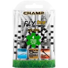 Champ Golf Zarma FLYtee MyHite - 4 Inch - 20 CT