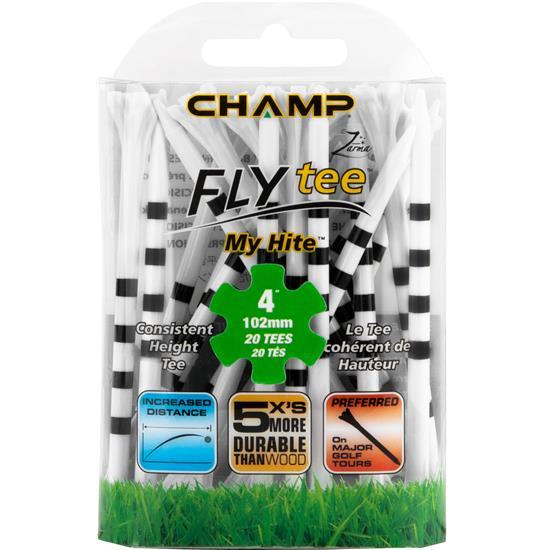 Champ Golf Zarma FLYtee MyHite - 4 Inch - 20 CT