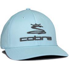 Cobra Men's Pro Tour Stretch Fit Golf Hat - Blue Bell - Large/X-Large