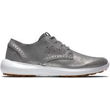 FootJoy Silver Sparkle FJ Flex LX Golf Shoes for Women