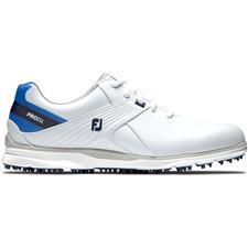 FootJoy White-Blue Pro/SL Golf Shoes for Women