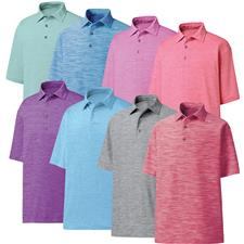 FootJoy Custom Logo ProDry Performance Lisle Space Dyed Shirt