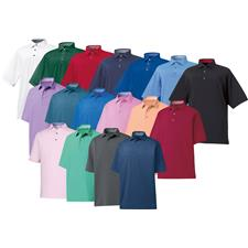 FootJoy Custom Logo ProDry Performance Solid Lisle Self Collar Shirt