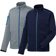 FootJoy Men's Softshell Full-Zip Jacket