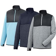 FootJoy Men's Sweater Fleece 1/4-Zip Pullover