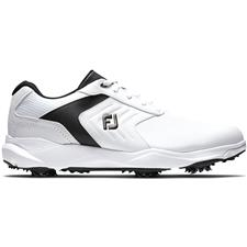 FootJoy White-Black eComfort Golf Shoes
