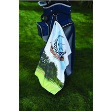 Microfiber Medium Waffle Towel Full Color Sublimated