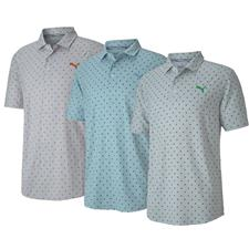 Puma Men's Cloudspin Scatter Golf Polo