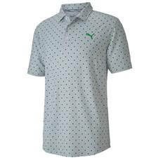 Puma Greenery Cloudspin Scatter Golf Polo