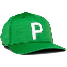 Puma Men's P 110 Snapback Hat - Amazon Green