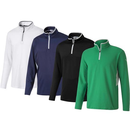 Puma Men's Rotation Golf 1/4 Zip Pullover