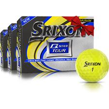 Srixon Q-Star Tour 3 Yellow Golf Balls - Buy 2 Get 1 Free