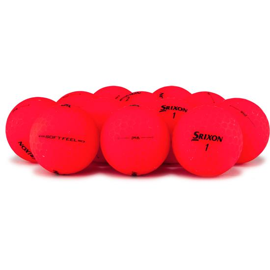 Srixon Soft Feel Brite Red Golf Ball