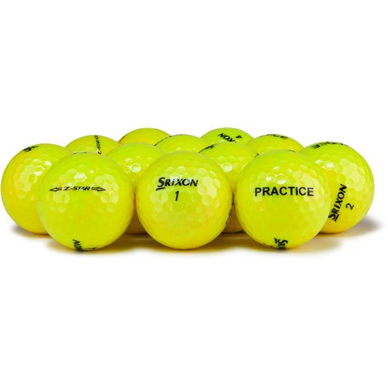 Srixon Z Star 4 Yellow Practice Golf Balls