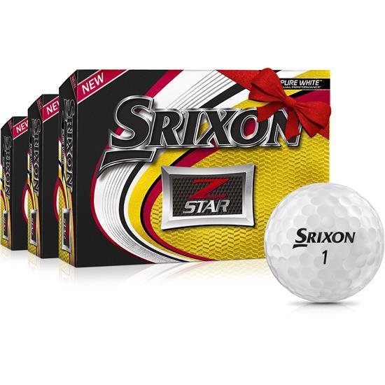 Srixon Z Star Golf Balls - Buy 2 DZ Get 1 DZ Free