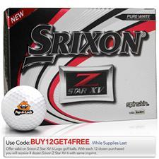 Srixon Z Star XV Custom Express Logo Golf Balls
