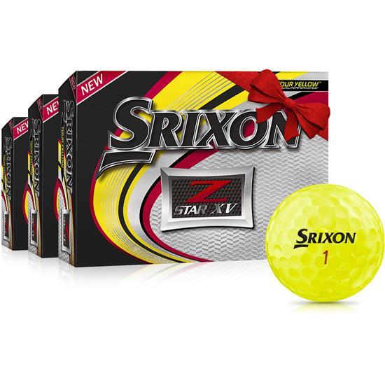 Srixon Z Star XV Yellow Golf Balls - Buy 2 Get 1 Free