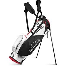 Sun Mountain 2.5+ 14-Way Stand Bag - White-Black-Red