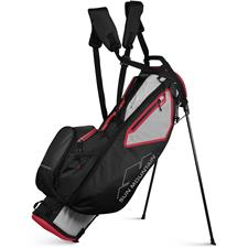 Sun Mountain 3.5 LS Stand Bag - Cement-Black-Red