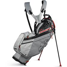 Sun Mountain 4.5 LS Stand Bag - Charcoal-White-Red