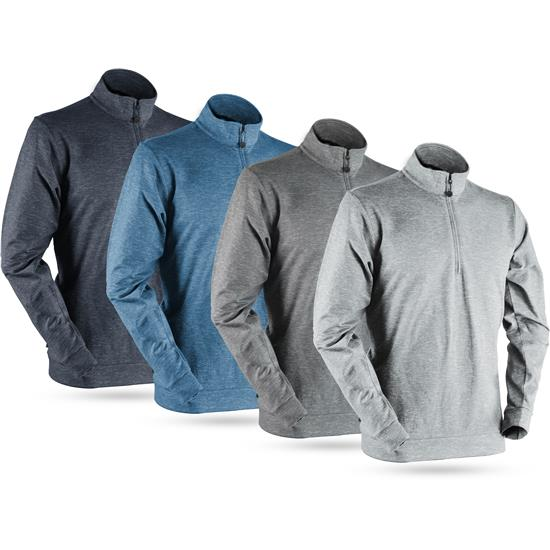 Sun Mountain Men's Bridger Long Sleeve Pullover - 2021 Model