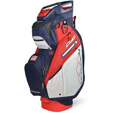 Sun Mountain C-130 5-Way Cart Bag - Navy-White-Red