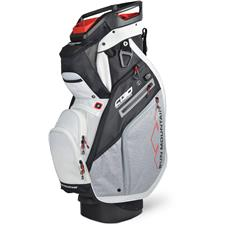 Sun Mountain C-130 Supercharged Cart Bag - Black-Charcoal-White-Red