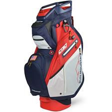 Sun Mountain C-130 Supercharged Cart Bag - Navy-White-Red