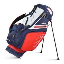 Sun Mountain C-130S Stand Bag - Red-Navy-White