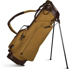 Sun Mountain Canvas/Leather Stand Bag - Coyote-Brown
