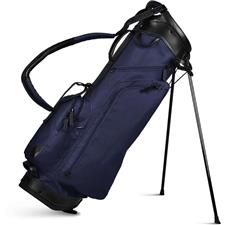 Sun Mountain Canvas/Leather Stand Bag - Navy-Black