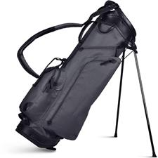 Sun Mountain Canvas/Leather Stand Bag - Slate-Black