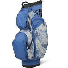 Sun Mountain Diva Cart Bag - Blue-Tropic Print