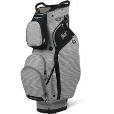 Sun Mountain Diva Cart Bag - Silver-Silver Stripe-Black