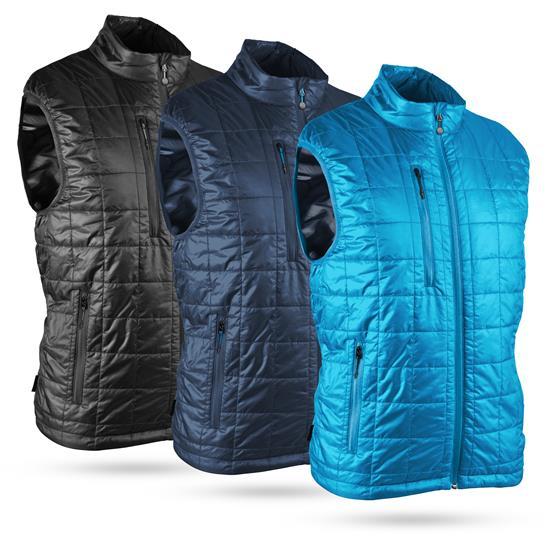 Sun Mountain Men's Granite Full-Zip Vest - 2021 Model