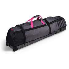 Sun Mountain Kube Travel Bag - Graphite-Pink