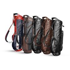 Sun Mountain Leather Cart Bag - 2021 Model