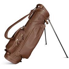 Sun Mountain Leather Stand Bag - Brown-Khaki