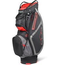 Sun Mountain Maverick Personalized Cart Bag - Black-Gunmetal-Red