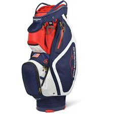 Sun Mountain Maverick Cart Bag - Navy-White-Red