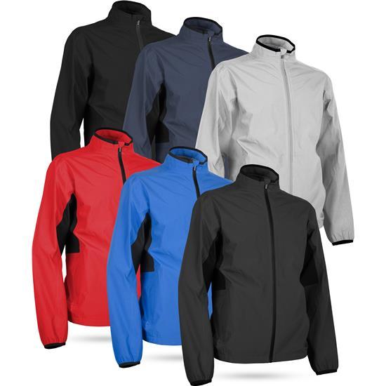 Sun Mountain Men's Monsoon Full-Zip Jacket - 2021 Model