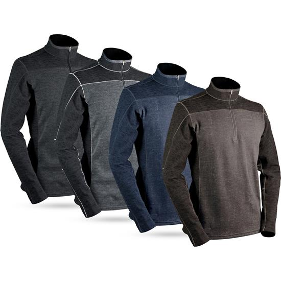 Sun Mountain Men's Pryor Long Sleeve Thermal Pullover - 2021 Model