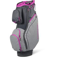 Sun Mountain Sierra Cart Bag for Women - Gunmetal-Charcoal-Fuschia