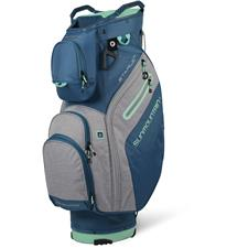 Sun Mountain Starlet Cart Bag for Women - Spruce-Charcoal-Ice