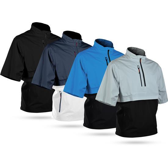 Sun Mountain Men's Stratus Short Sleeve Pullover - 2021 Model