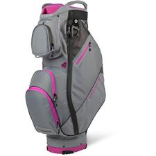 Sun Mountain Sync Cart Bag for Women - Charcoal-Cadet-Fuschia